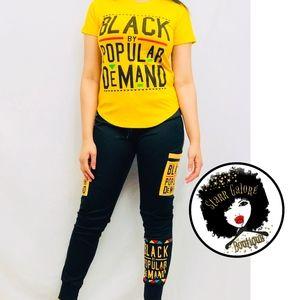 d2220712467386 Women s Black By Popular Demand Shirt on Poshmark